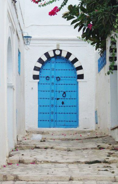 Tunisian old door