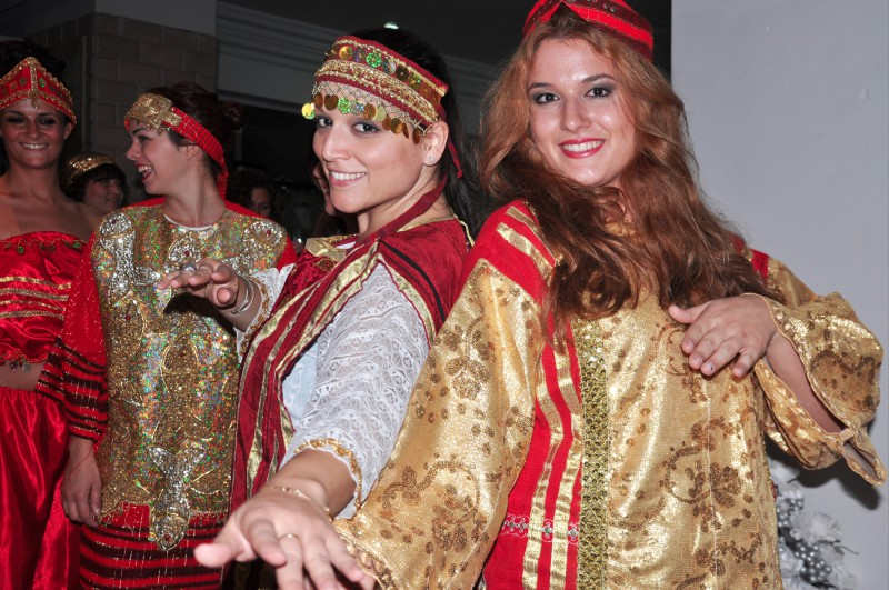 Festival of folk costume in Monastir