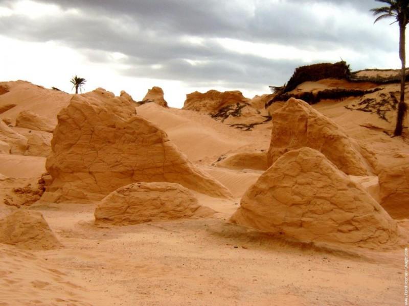 Sables du Sahara