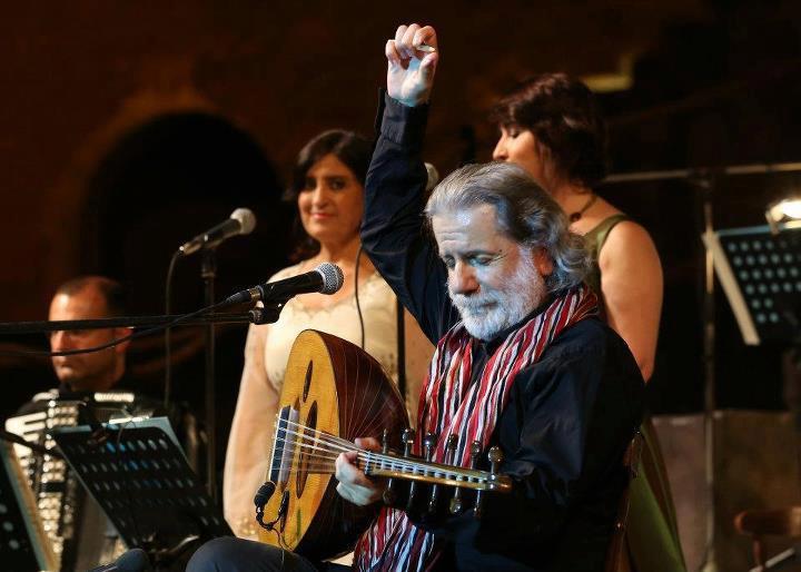 Marcel Khalife au festival El Jem / Tunisia