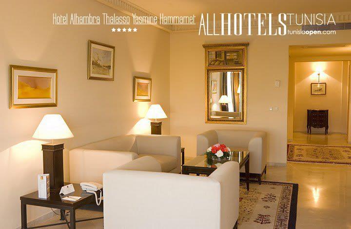 Hotel Alhambra Thalasso ★★★★★ Yasmine Hammamet