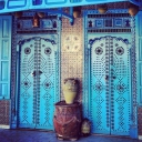 doors #blue azul traditional artisan