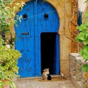 Tunisian old door 1e