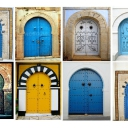 Tunisian old door 12