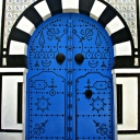 Tunisian old door 2
