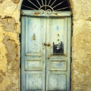 Tunisian old door 24
