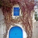 Tunisian old door  Sidi Bou Saïd ♥