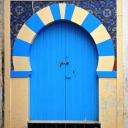 Tunisian old door Ksour Essaf _ Mahdia  © Chtioui Dali 1