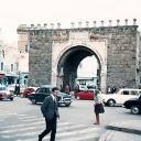 Bab el-Bahr (porte de France) à Tunis 1972