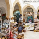3D Panorama taken in ceramic shop in the medina, Sousse, Tunisia