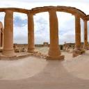 3D Roman ruins at Sbeitla
