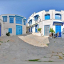 3D Village of Sidi Bou Said, near Tunis