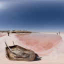 3D Salt lake Chott El-Jerid