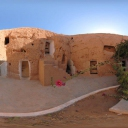 3D The Harmala Hotel in Matmata consists of a number of troglodytes