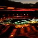 Aéroport Enfidha by night