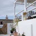 la terrasse à 2 niveaux, une vue imprenable