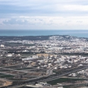 Tunis seen from above Tunis vue du ciel 3