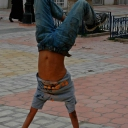 The child Acrobat...